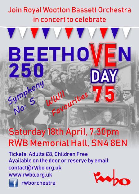 RWBO Concert Poster April 20